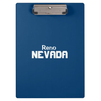 Reno, Nevada Clipboard