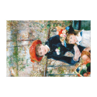 Renoir classic print on wrapped canvas