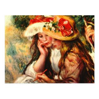 Renoir Fine Art Postcard
