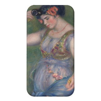 Renoir - Girl Dancing with Castanets iPhone 4 Covers