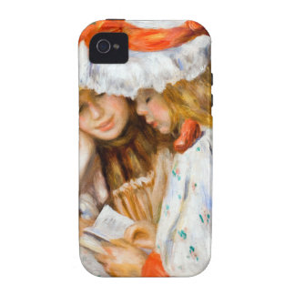 Renoir Girls Reading Vibe iPhone 4 Cases