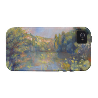 Renoir Lakeside Landscape Vibe iPhone 4 Case