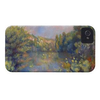 Renoir Lakeside Landscape iPhone 4 Case-Mate Cases
