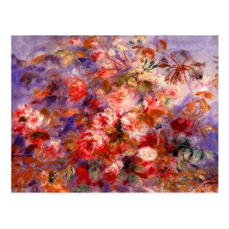 Renoir: Roses by the Window Postcard