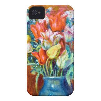 Renoir Tulips iPhone 4 Cases