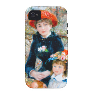 Renoir Two Sisters on Terrace iPhone 4/4S Covers