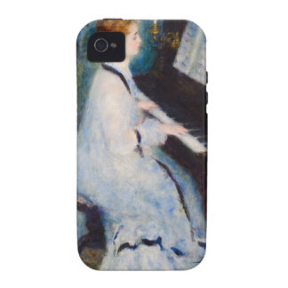 Renoir Woman at Piano Case-Mate iPhone 4 Covers