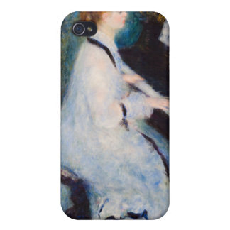 Renoir Woman at Piano Cases For iPhone 4