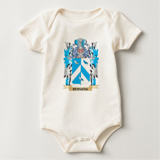 Renshaw Coat of Arms - Family Crest Baby Bodysuits