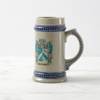 Renshaw Coat of Arms - Family Crest Beer Steins