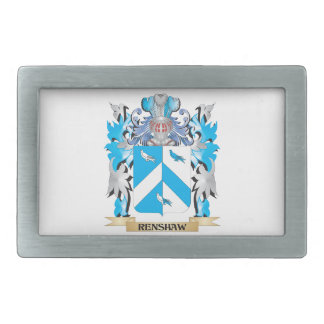Renshaw Coat of Arms - Family Crest Belt Buckles