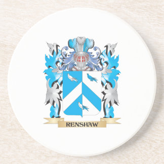Renshaw Coat of Arms - Family Crest Coaster