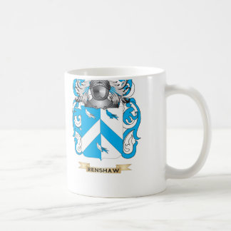 Renshaw Coat of Arms Family Crest Coffee Mugs