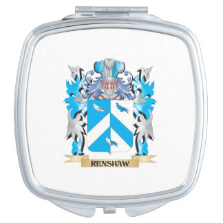 Renshaw Coat of Arms - Family Crest Compact Mirrors