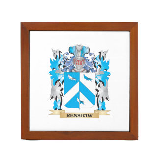 Renshaw Coat of Arms - Family Crest Desk Organizers