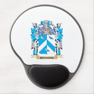 Renshaw Coat of Arms - Family Crest Gel Mouse Pad