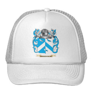 Renshaw Coat of Arms (Family Crest) Hats