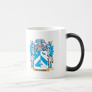 Renshaw Coat of Arms - Family Crest Morphing Mug