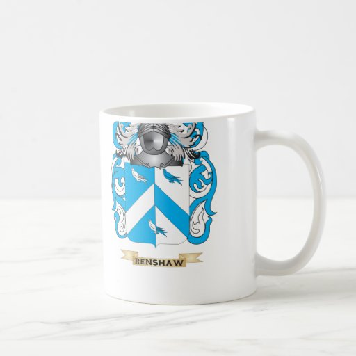 Renshaw Coat of Arms (Family Crest) Coffee Mugs