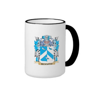 Renshaw Coat of Arms - Family Crest Ringer Mug