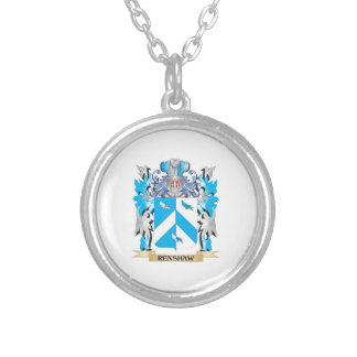 Renshaw Coat of Arms - Family Crest Custom Necklace