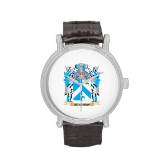 Renshaw Coat of Arms - Family Crest Wrist Watch
