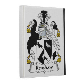 Renshaw Family Crest iPad Cases