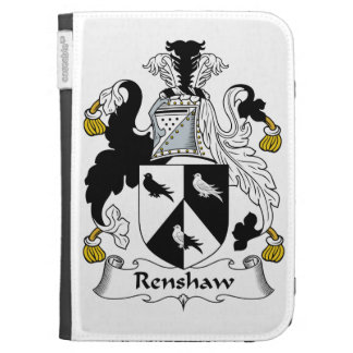 Renshaw Family Crest Kindle 3G Covers