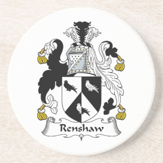 Renshaw Family Crest Beverage Coaster