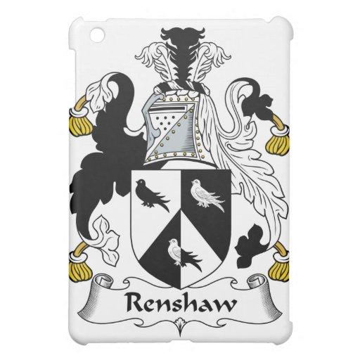 Renshaw Family Crest iPad Mini Case
