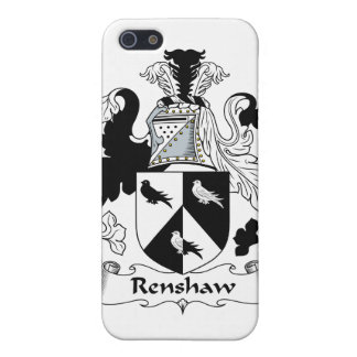 Renshaw Family Crest iPhone 5 Cases