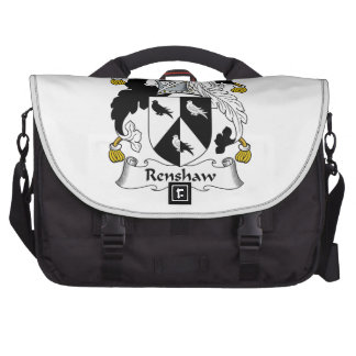 Renshaw Family Crest Laptop Bags