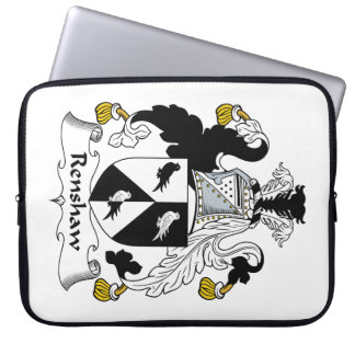 Renshaw Family Crest Laptop Sleeve