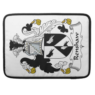 Renshaw Family Crest Sleeve For MacBooks