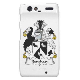 Renshaw Family Crest Motorola Droid RAZR Covers