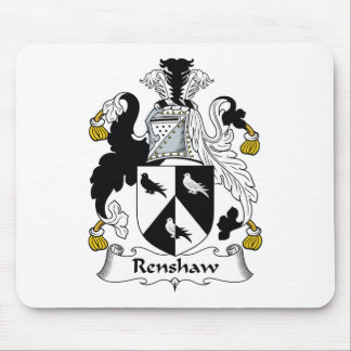 Renshaw Family Crest Mouse Pad