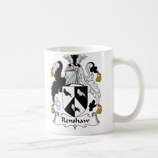 Renshaw Family Crest Coffee Mugs