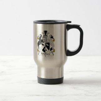 Renshaw Family Crest Stainless Steel Travel Mug