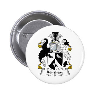 Renshaw Family Crest Pins