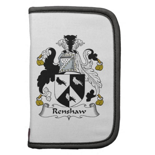 Renshaw Family Crest Planners