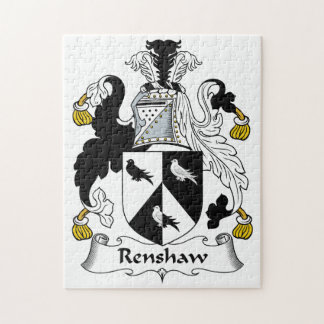 Renshaw Family Crest Puzzle