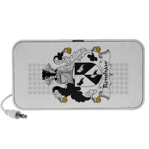 Renshaw Family Crest Portable Speaker