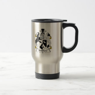 Renshaw Family Crest Stainless Steel Travel Mug