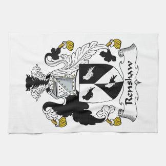 Renshaw Family Crest Kitchen Towel