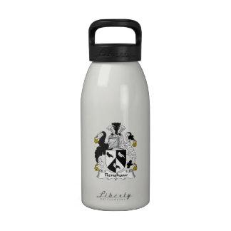 Renshaw Family Crest Reusable Water Bottle