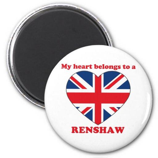 Renshaw Refrigerator Magnet