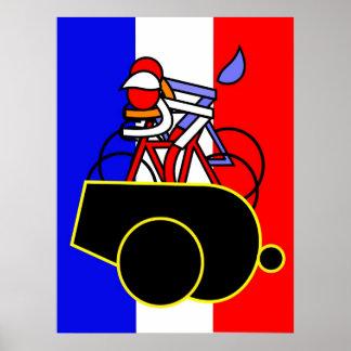 Renshaw's butt - Tour de France Poster