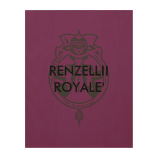Renzellii Royale' Wood Wall Art