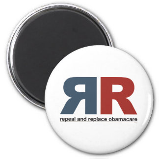 Repeal And Replace Obamacare 6 Cm Round Magnet