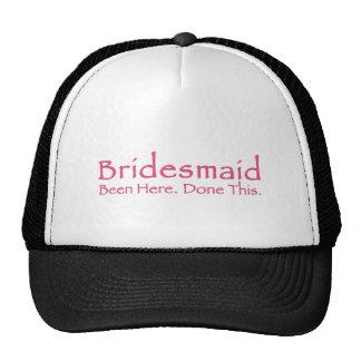 Repeat Bridesmaid Gear Trucker Hat